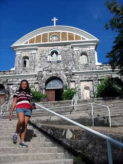 The church and fort of Culion Town