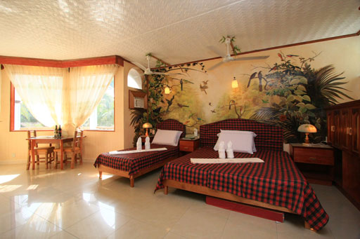 Kokosnuss resort has a variety of rooms for you a simple for Nipa hut interior designs