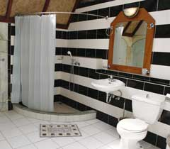 Inside view of our type 3 bathroom